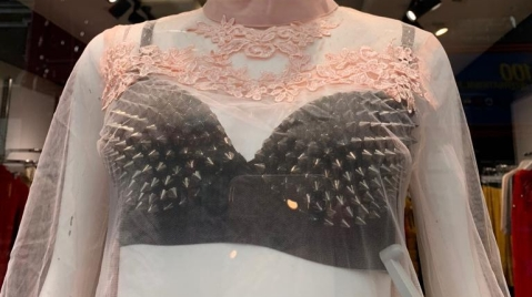 bra with spikes